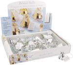 Silver - Bridal Bells 24/Pkg