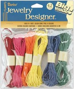 Color Cord Pack 6.4 Meters 6/Pkg, Assorted Colors