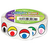 "Multicolor - Wiggle Eyes Stickers .5"" 1,000/Pkg"