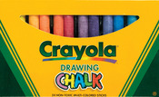 Crayola Drawing Chalk - 24/Pkg