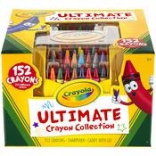 152pc - Crayola Ultimate Crayon Collection W/Sharpener And Caddy