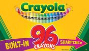96/Pkg - Crayola Crayons