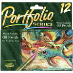 12/Pkg - Crayola Portfolio Series Oil Pastels