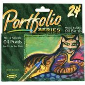 24/Pkg - Crayola Portfolio Series Oil Pastels