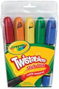 5/Pkg - Crayola Twistables Slick Stix