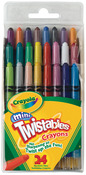 Crayola Mini Twistables Crayons - 24/Pkg