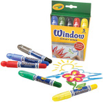 5/Pkg - Crayola Window Crayons