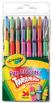 Crayola Fun Effects! Twistables Crayons, 24/Pkg