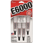 E6000 Multi-Purpose Adhesive 4/Pkg
