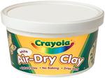 White - Crayola Air-Dry Clay 2.5lb