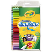 50/Pkg - Crayola Super Tips Washable Markers