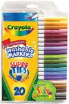 20/Pkg - Crayola Super Tips Washable Markers
