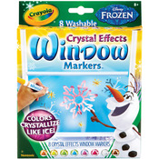 Frozen Colors 8/Pkg - Crayola Disney FX Bold Line Markers