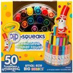 Crayola Pip-Squeaks Telescoping Mini Marker Tower - 50/Pkg