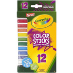 12/Pkg - Crayola Color Sticks Woodless Colored Pencils