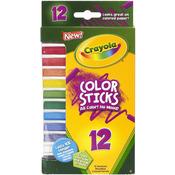 12/Pkg - Crayola Color Sticks Woodless Colored Pencils