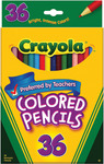 36/Pkg Long - Crayola Colored Pencils