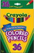 36/Pkg Long - Crayola Colored Pencils