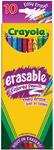 10/Pkg Long - Crayola Erasable Colored Pencils