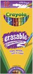 12/Pkg Long - Crayola Erasable Colored Pencils