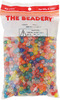 Multicolor - Faceted Beads 8mm 900/Pkg THE BEADERY-Faceted Beads: Multicolor. Beautiful beads in a multitude of colors.  Whether you plan on using them for hair, jewelry, adornments on clothing, lamp shades or curtains they will surely brighten up your world. This package includes 900 beads: 8mm. Choking Hazard-small parts. Not for children under 3 years. Imported.