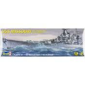 USS Missouri Battleship 1:535 - Plastic Model Kit