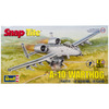A-10 Warthog Desktop 1:72 - SnapTite Plastic Model Kit Revell-SnapTite Plastic Model Kit: A-10 Warthog Desktop. A great item for history and aircraft collectors! This package contains thirty-six plastic pieces, molded in light gray, peel 'n stick decal and measures at 8-3/4 inches long. Scale of the aircraft is 1:72. Skill level: 1. Recommended for ages 8 and up. WARNING: Choking Hazard-small parts. Not for children under 3 years. Imported.