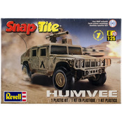 Humvee 1:25 - SnapTite Plastic Model Kit