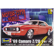 '69 Camaro Z/28 2-In-1 1:25 - Plastic Model Kit