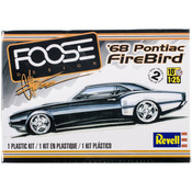 '68 Pontiac Firebird 400 Ram Air 1:25 - Plastic Model Kit