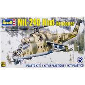 Mil-24 Hind Helicopter 1:48 - Plastic Model Kit