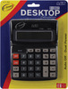 Dual Power - Desktop Calculator 8-Digit 7.5 X5.75  A&W OFFICE SUPPLIES-Desktop Calculator.  This desktop calculator features solar powered with battery back-up, power on/off switch, an eight digit operation, full function memory, easy to read display and is constructed of black plastic.  Calculator measures 5-1/4x4-1/4in.  Imported.