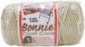 Pearl (Beige) - Bonnie Macrame Craft Cord 6mm X 100yd
