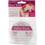 Silver - Bowdabra Bow Wire 100yd