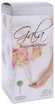 Gala Bouquet Holder -Crystal Acrylic Handle W/Green Dry Foam