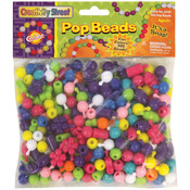 Assorted Sizes & Shapes - Pop Beads 300/Pkg