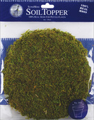 "Green - Moss Pot Toppers 8"" 3/Pkg"