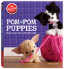 PomPom Puppies Book Kit KLUTZ-Pom-Pom Puppies Book Kit. Make your own adorable dogs. This package contains a 56-page book of ideas and instructions, yarn in four colors, pom-pom maker, four sheets of felt, four mini pom-poms, eight bead eyes, eight foam noses and tongues, comb, glue, three ribbon bows and punch-out carriers and accessories. Recommended for ages 8 and up. Authors: April Chorba. Softcover, 55 pages. Published 2013. Imported.