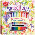 Stencil Art Book Kit