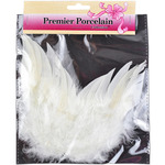 "White - Feather Angel Wings 6""X5-1/2"""