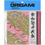 "Shinwazome Chiyogrami - Origami Paper 5.875""X5.875"" 7/Pkg"