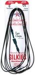 Black - Stretch Magic Silkies Necklaces 2mm 6/Pkg