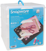 """14""""X12.5""""X13"""" - Snap 'n Stack Craft Organizer Large Square 3 Layers"""