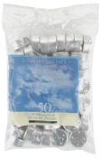 White - Unscented Tea Lights 50/Pkg