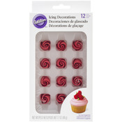 Roses - Icing Decorations 12/Pkg