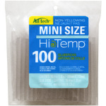 "High Temp Mini Glue Sticks, .28""X4"" 100/Pkg"