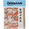 """Yuzen Washi Red - Origami Paper 5.875""""X5.875"""" 8 Sheets"""