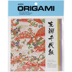 "Yuzen Washi Red - Origami Paper 5.875""X5.875"" 8 Sheets"