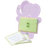 Card Activity Kit -Elephant Baby Advice