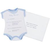 Boy Baby Shower - Invitations & Envelopes 12/Pkg